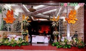 Cổng hoa cưới tuyệt đẹp cho lễ thành hôn - CHC004