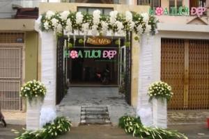 Cổng hoa cưới độc lạ cực đẹp - CHC009