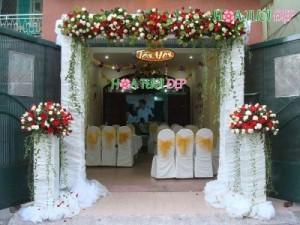 Cổng hoa cưới giá rẻ TP.HCM - CHC010