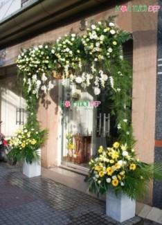 Mẫu cổng hoa cưới đẹp hiện đại - CHC012