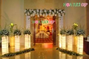 Cổng hoa cưới đẹp sang trọng - CHC014