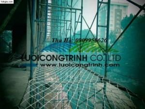 Lưới an toàn trong công trình xây dựng