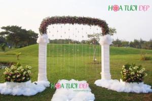 Cổng hoa cưới phong cách độc đáo - CHC016
