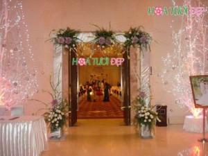 Cổng hoa cưới đẹp, giá rẻ - CHC019