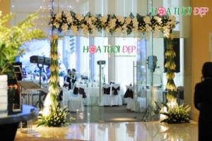 Cổng hoa cưới đẹp - CHC020
