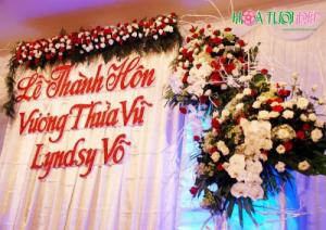 Cổng hoa cưới sang trọng, giá cả hợp lý - CHC021