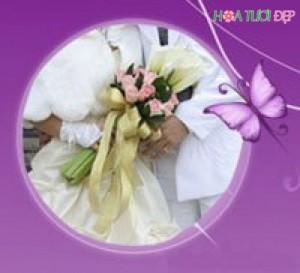 Mẫu hoa cưới đẹp - HC001