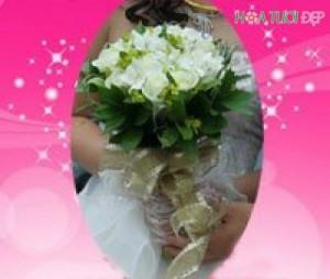 Dịch vụ hoa cưới - HC003