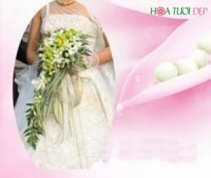 Hoa cưới cầm tay đẹp tinh tế - HC004