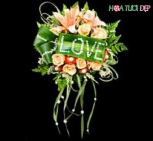 Hoa cưới cầm tay cho cô dâu - HC009