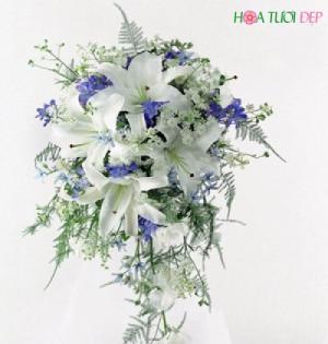 Giá hoa cưới cầm tay cực tốt TP.HCM - HC012