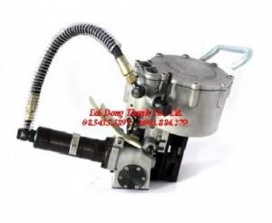 Dụng cụ xiết ĐAI THÉP dùng hơi khí nén model P383, máy BẤM ĐAI thép 32mm GIÁ GỐC