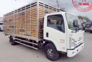 Đóng thùng xe tải chở gia cầm, chở gà vịt 5 tấn