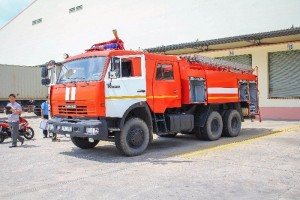 Xe cứu hỏa Kamaz mới 100%
