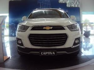 Khuyến Mãi Cực Ưu Đãi! Chevrolet Captiva 2016!