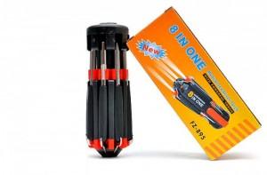 Bộ Tua Vít 8 Trong 1 Tích Hợp Đèn Pin, dụng cụ cần thiết cho gia đình bạn - MSN383042