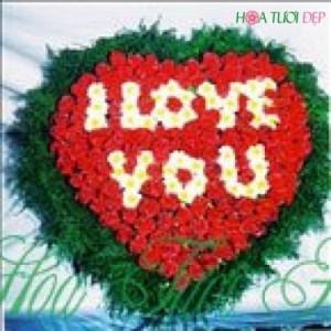 Hoa tình yêu - Gửi lời yêu thương TY003