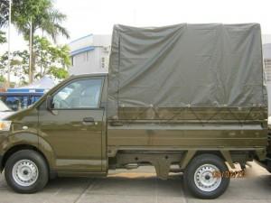 xe tải suzuki carry pro 750kg hàng độc màu lính