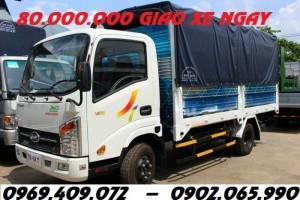 Mua xe veam 1.9t thùng dài 4m4 / Bán xe veam vt 200-1 1.9t giá rẻ nhất miền nam