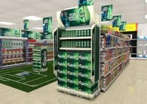 Sản xuất đầu kệ siêu thị Gondola Head - Key Communication