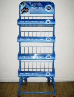 Sản xuất, làm kệ trưng bày hàng hóa trong siêu thị giá cực rẻ - Key Communication
