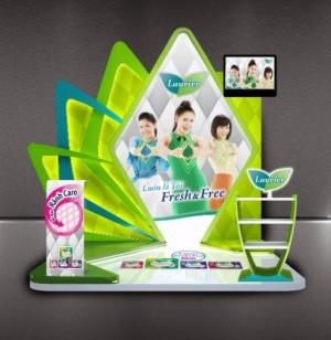 Sản xuất kệ trưng bày mica giá cực rẻ - Key Communication