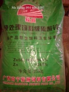 Zinc Sulfate, ZnSO4, Kẽm Sulphate, sản xuất sợi Vitco, thức ăn chăn nuôi, phân bón