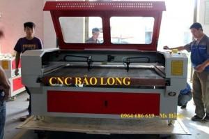 Máy cắt vải laser 1610 - 2 đầu , máy laser cắt vải công nghiệp