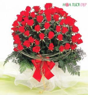 Tình yêu mãnh liệt - Hoa tình yêu TY005