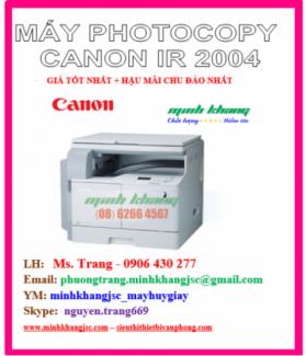 Máy photocopy Canon ir2004 model 2016 giá tốt nhất