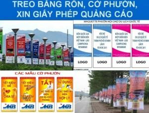 Treo băng rôn giá rẻ tại Đà Nẵng, Cờ phướn giá rẻ