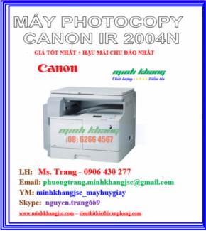 Máy photocopy Canon ir2004N giá tốt nhất model 2016