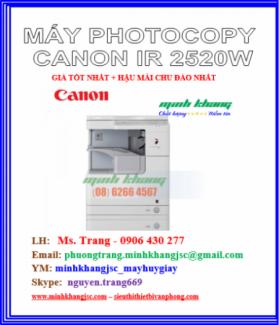 Máy photocopy Canon ir2520W tiết kiệm chi phí model 2016 giá tốt nhất
