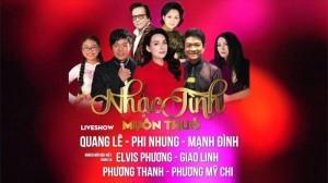 Háo hức chờ đón liveshow nhạc tình muôn thuở tại Thủ đô Hà Nội