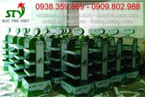 Xưởng sản xuất kệ trưng bày, sản xuất kệ trưng bày sản phẩm