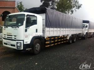 Đại lý xe tải Isuzu 16000 kg FVM34W hỗ trợ vay 80%, Lãi suất thấp