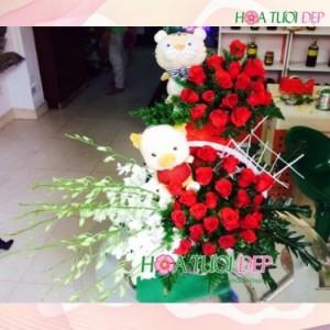 Hoa tươi đẹp tặng người thương - TY088
