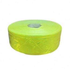 Dây phản quang nhựa bản 5cm màu vàng chanh VPQ-VN-05