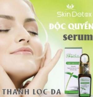 Serum thải độc tố da mặt shewhite