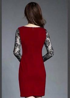 Đầm Body Tay Ren