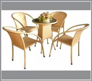 Bàn ghế cà phê sân vườn giá cực rẻ