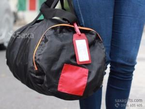 Túi du lịch xếp gọn | Túi du lịch quà tặng | May túi du lịch tại TPHCM