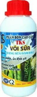 Để phòng bệnh thán thư và rụng trái non bà con nên dùng TKS - Mega Power + TKS - Vôi Sữa để phun lá.