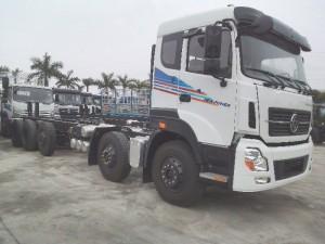 Xe tải thùng 5 chân Trường Giang Đông Phong 24 tấn