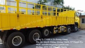 Tìm hiểu về dòng xe tải dongfeng |Xe tải Thanh Hóa
