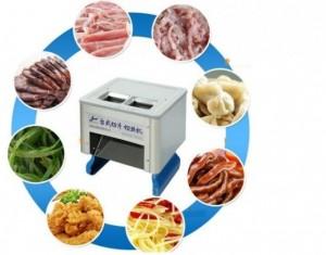 Cung cấp máy thái thịt tươi sống 2 ngăn, máy thái lát thịt bò thịt lợn, thịt mỡ làm bánh trung thu rẻ nhất tại Cầu Giấy.
