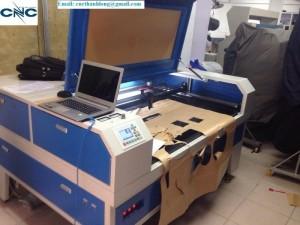 Máy laser cắt khắc giá rẻ, máy laser cắt vải