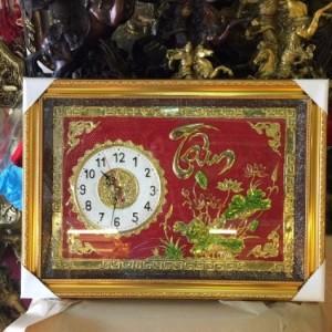 Tranh đồng hồ _quà tặng nghệ thuật