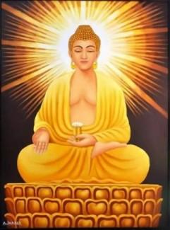 Tranh ảnh Phật giáo 3D