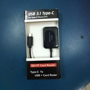 Dây chuyển USB 3.1 Type C sang USB và đọc thẻ đa năng